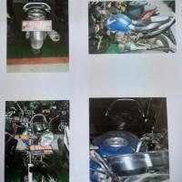 Itjen Kemenhub: 1 (satu) unit motor Honda Mega Pro Th.2007 Nopol B 6323 PGQ, kondisi rusak berat