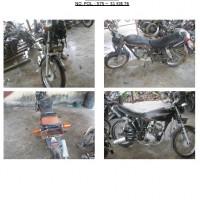 Polres.Sintang.67. Scrap/limbah padat kendaraan dinas roda 2 (dua) Polres Sintang Merk Tossa Tiger No.Pol. 575-31 tahun 2003