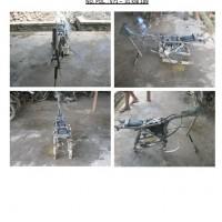 Polres.Sintang.63. Scrap/limbah padat kendaraan dinas roda 2 (dua) Polres Sintang Merk Honda GL Max No.Pol. 571-31 tahun 2004