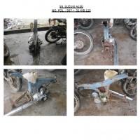 Polres.Sintang.59. Scrap/limbah padat kendaraan dinas roda 2 (dua) Polres Sintang Merk Suzuki A-100 No.Pol. 567-31 tahun 1992