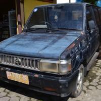 Pemkab Sijunjung Lot 8, 1 (satu) Unit Kendaraan Roda 4  Toyota KF 52 SP Thn 1996 Nopol  BA 1783 KB Warna biru BPKB STNK ada