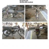 Polres.Sintang.58. Scrap/limbah padat kendaraan dinas roda 2 (dua) Polres Sintang Merk Suzuki A-100 No.Pol. 566-31 tahun 1995