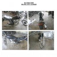 Polres.Sintang.69. Scrap/limbah padat kendaraan dinas roda 2 (dua) Polres Sintang Merk Tossa Tiger No.Pol. 577-31 tahun 2003