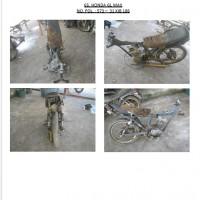 Polres.Sintang.65. Scrap/limbah padat kendaraan dinas roda 2 (dua) Polres Sintang Merk Honda GL Max No.Pol. 573-31 tahun 2004
