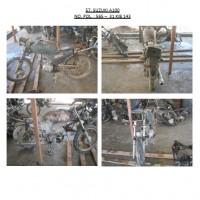 Polres.Sintang.57. Scrap/limbah padat kendaraan dinas roda 2 (dua) Polres Sintang Merk Suzuki A-100 No.Pol. 565-31 tahun 1995
