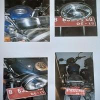 Itjen Kemenhub: 1 (satu) unit motor Honda Mega Pro Th.2007 Nopol B 6324 PGQ, kondisi rusak berat