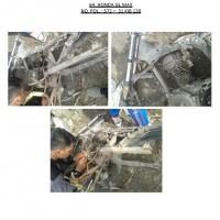Polres.Sintang.64. Scrap/limbah padat kendaraan dinas roda 2 (dua) Polres Sintang Merk Honda GL Max No.Pol. 572-31 tahun 2004