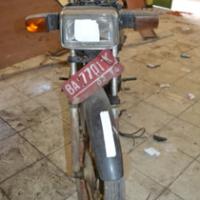 Pemkab Sijunjung Lot 15, 1 (satu) Unit Kendaraan Roda 2 Honda GLM II Thn 1992 Nopol BA 7701 K Warna Hitam BPKB tidak ada, STNK ada