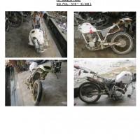 Polres.Sintang.70. Scrap/limbah padat kendaraan dinas roda 2 (dua) Polres Sintang Merk Kanzen No.Pol. 578-31 tahun 2003