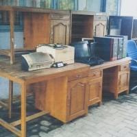 BPS Jepara:1 paket BMN berupa inventaris kantor kondisi rusak berat dan apa adanya