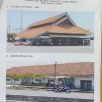 (LANAL Semarang) 1 (satu) paket bangunan untuk dibongkar