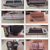 BPJS Ketenagakerjaan Cabang Ternate: 1 (satu) paket peralatan dan mesin sejumlah 6 buah/unit kondisi rusak berat