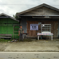 1 (satu) bidang tanah seluas 341 m2 di  Desa/Kelurahan Uso, Kecamatan Batui, Kabupaten Banggai BRI LUWUK