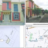Tanah berikut bangunan di atasnya SHM 20749, luas 106 M2 di Griya Sinassara Permai, Kel Kalukubodoa, Tallo, Makassar (Bank Mandiri CCR)