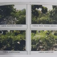 1 bidang tanah SHM 16846 luas 73 m2 di Desa Dalung, Kec. Kuta Utara, Kab. Badung (BPR Lestari)
