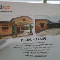 BRI Agroniaga P.Siantar:  Tanah dan Bangunan Lt. 350m2 SHM 974 di Desa Tanjung Pasir Kec. Tanah Jawa Kab. Simalungun