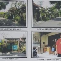 Sebidang tanah dan bangunan SHM 4565 luas 160 m2 di Kel. Sesetan, Kec. Denpasar Selatan (Bank Mega)