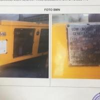 KPPBC BDL: 1 unit stationary genset dalam kondisi rusak berat