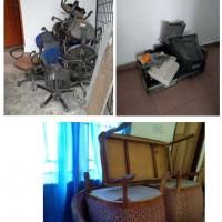 BPS HUMBAHAS-2. 1 (satu) paket barang inventaris dalam kondisi Rusak Berat