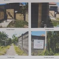 Sebidang tanah SHM 3271 luas 150 m2 di Desa Penatih Dangin Puri, Kec. Denpasar Timur, Kota Denpasar (BRI Renon)