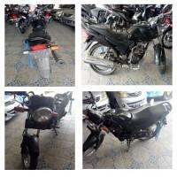 1 motor merk Honda GL 160 D (Mega Pro) Tahun  2010, No.Polisi DD 3401 JR, kondisi Rusak (Jasa Raharja)