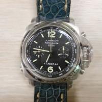 PT Sarana Gadai Prioritas, 1 unit arloji merk Panerai Luminor 1950 3 day Chrono Playback, Rattrapante PAM 213 tanpa sertifikat dan box
