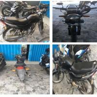 1 motor merk Honda GL 160 D (Mega Pro) Tahun 2010, No. Polisi DD 3405 JR, kondisi Rusak  (Jasa Raharja)