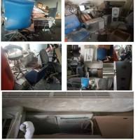 Satu paket barang-barang inventaris perusahaan kondisi rusak