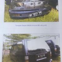 B. Lampung (2): 1  mobil Toyota KF 80 STD tahun 2002,Nomor Polisi: BE 1673 AO (dh BE 2212 CY), dalam kondisi cukup