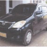 1 unit kendaraan roda 4  Merk/Type Toyota Avanza/1300 E, tahun 2007, Nomor Polisi DS 5258 GC