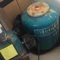 Rati (2): 1 (satu) unit pompa air, Merk Metabo Aqua, Kapasitas daya hisap 30M (KONDISI TIDAK BARU -KEADAAAN HIDUP)