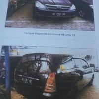 B. Lampung (5): 1 mobil Toyota Innova-V tahun 2006, warna hitam, Nomor Polisi:  BE 2761 CR (dh BE 120 RI), dalam kondisi baik