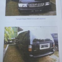 B. Lampung (3):1 mobil Toyota KF 80 STD tahun 2002, Nomor Polisi: BE 1678 AO (dh BE 2214 CY), dalam kondisi baik