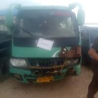 Kejari Aceh Tamiang, 1 (satu) unit Mobil Penumpang Merk Isuzu warna hijau putih Nopol BL 7322 UA, tanpa STNK dan BPKB.