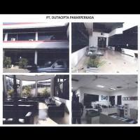 Tanah dan bangunan diatasnya sesuai SHM No.641 ls 7.640 m2 terletak di Jl.Panjang Jiwo, Rungkut Surabaya. Surabaya