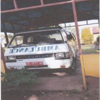 1 unit kendaraan roda 4  Merk/Type Mitsubishi/L 300 D, tahun 2003, Nomor Polisi DS 5073 GC