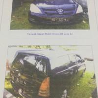 B. Lampung (8): 1  mobil Toyota Innova tahun 2007, warna Biru, Nomor Polisi: BE 1523 AJ (dh BE 2389 CY),   dalam kondisi baik