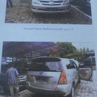 B. Lampung (6): 1 mobil  Toyota Innova-V tahun 2006, , Nomor Polisi BE 2341 CY,  dalam kondisi baik