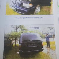 B. Lampung (1): 1 mobil Toyota KF 80 STD tahun 2002, Nomor Polisi:BE 1649 AO (dh BE 2215 CY) , dalam kondisi baik