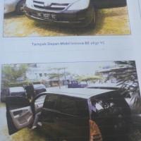 B. Lampung (4): 1 mobil Toyota Innova-G tahun 2006, warna hitam, Nomor Polisi: BE 1637 YC (dh BE 2337 CY),  dalam kondisi baik