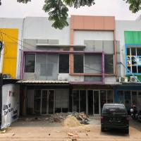 PANIN:2 (dua) bidang tanah berikut bangunan total luas 54 m2,di Kompleks Ruko Citraland Puri Indah Residence Blok.7 No.7 Serang