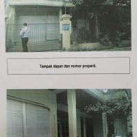 BRI Malang Martadinata - Tanah & bangunan SHM No. 1098 luas 178 M2 terletak di Kel. Mojolangu Kec. Lowokwaru Kota Malang