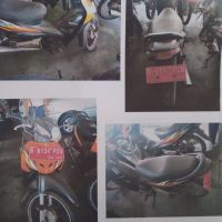 (KEMENRISTEKDIKTI) lot 6 berupa : 1 (satu) unit motor Honda/NF 100 SL, tahun 2007, Nopol B 6134 PGQ, Rusak Berat