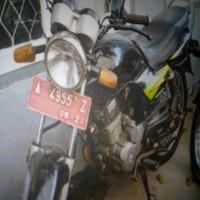 BAPAS SERANG:   Honda Mega Pro Tahun 2006 Nopol A 4955 Z