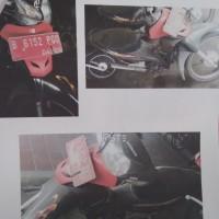 (KEMENRISTEKDIKTI) lot 3 berupa : 1 (satu) unit motor Honda/NF 100 SL, tahun 2007, Nopol B 6152 PGQ, Rusak Berat