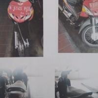 (KEMENRISTEKDIKTI) lot 1 berupa : 1 (satu) unit motor Honda/NF 100 SL, tahun 2007, Nopol B 6145 PGQ, Rusak Berat