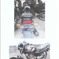 Jasa Raharja, 1 (satu) unit Sepeda Motor Merk/type Mega Pro, Nopol DR-2243 BQ