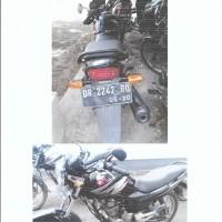 Jasa Raharja, 1 (satu) unit Sepeda Motor Merk/type Mega Pro, Nopol DR-2242 BQ