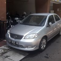 KPP Madya : Sedan Toyota Vios NCP42 REE G MT Silinder 01496 Th. 2005 warna Silver Metalik  No Polisi B 8430 MX