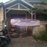 BRI: Sebidang tanah berikut bangunan, di Komplek Pondok Bahar Permai Blok S/15, Kel. Pondok Bahar, Kec. Karang Tengah, Kota Tangerang